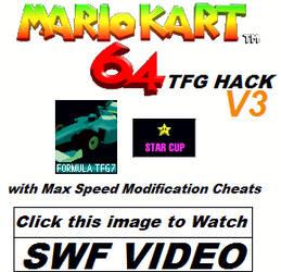MK64 Hack - Formula TFG 7 - Star Cup