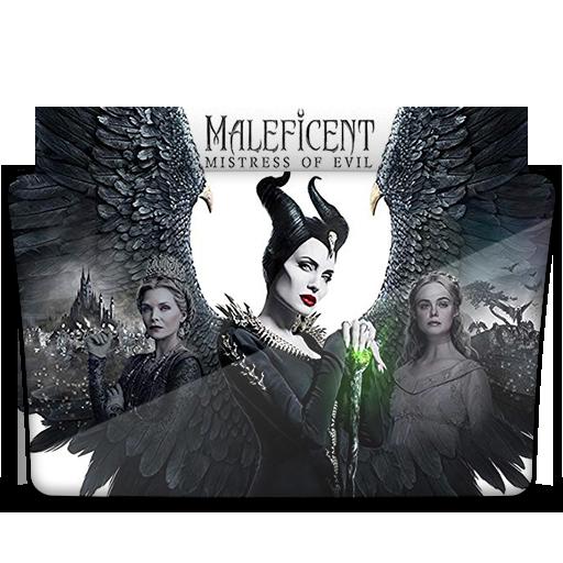 Maleficent Mistress Of Evil 2019 Folder Icon By Hassanalmokadem On Deviantart
