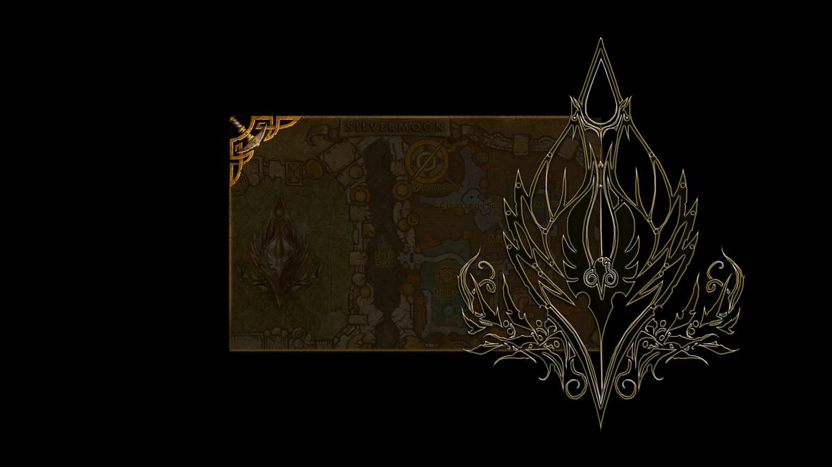 WoW Bloodelf Logon for Windows 7
