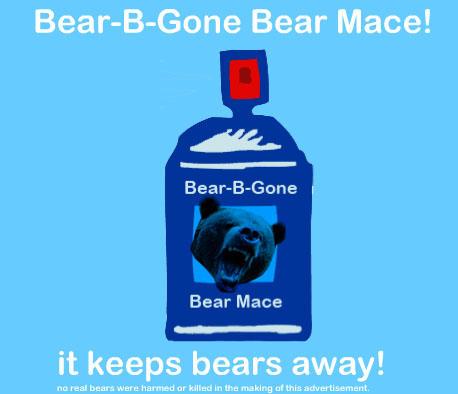 Bear-B-Gone Bear Mace