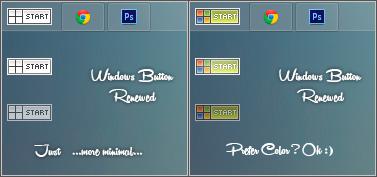 Windows Button Renewed by Metalbone1988