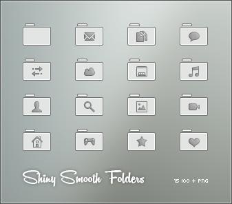 Shiny Smooth Folders
