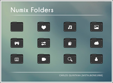Numix Folders by Metalbone1988