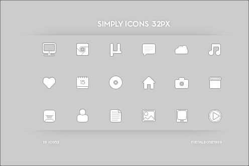 Simply Icons 32px