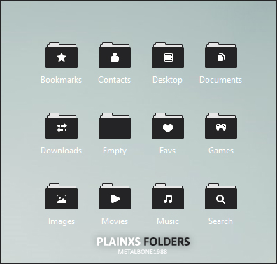 Plainxs Icons by Metalbone1988