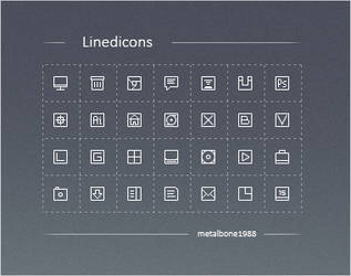 Linedicons by Metalbone1988