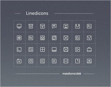 Linedicons