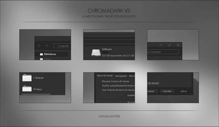 Chromadark VS by Metalbone1988