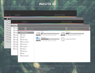 Maestix VS for Windows 10 by Metalbone1988