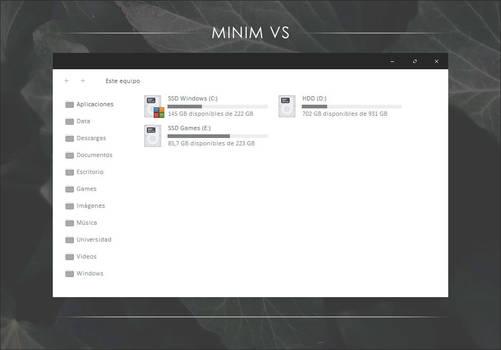Minim VS by Metalbone1988