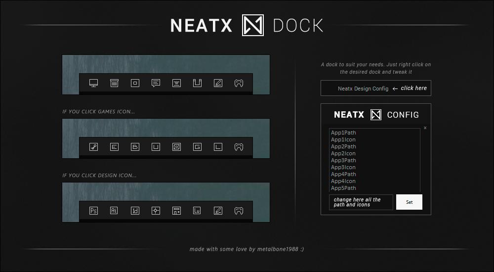 NeatX Dock by Metalbone1988