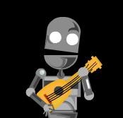 Robo y ukulele banjo prototype by E-m2