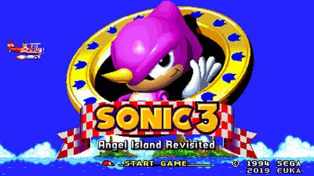 Sonic 3, but it's Espio