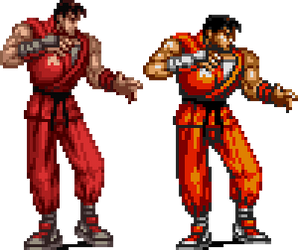 Guy in Streets of Rage 3