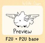 F2U and P2U Sharkie Base!