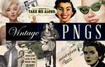 Vintage PNG Files