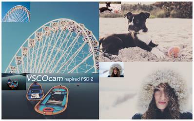 VSCO Cam inspired PSD 2