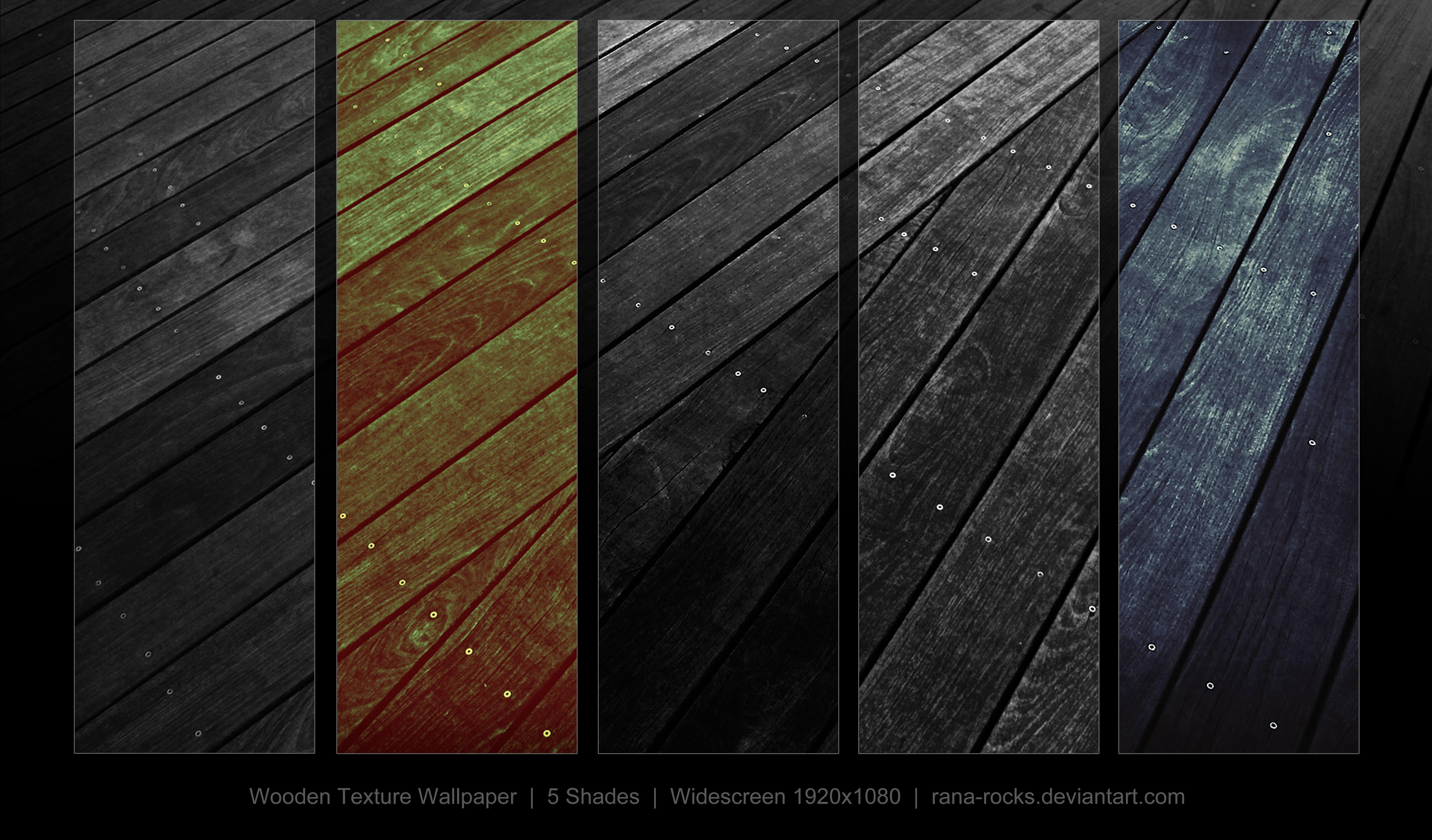 Dark Wood Wallpaper Pack By Rana Rocks