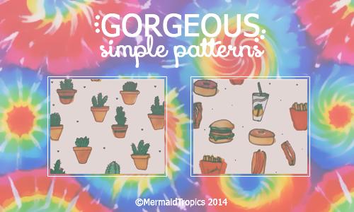 Gorgeous Patterns .pat by MermaidTropics