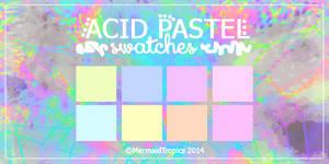 Acid Pastel Color Swatches .aco