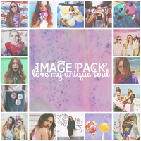 Love my unique soul - Image Pack by MermaidTropics