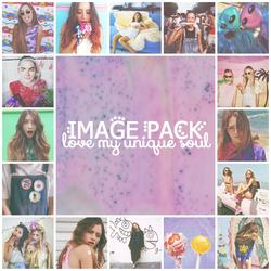 Love my unique soul - Image Pack