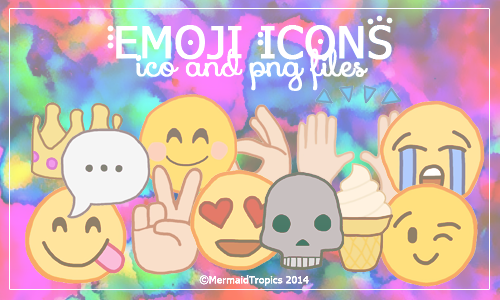 Emoji Icons .ico and .png