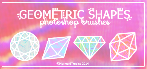 Geometric Shapes Brushes .abr by MermaidTropics