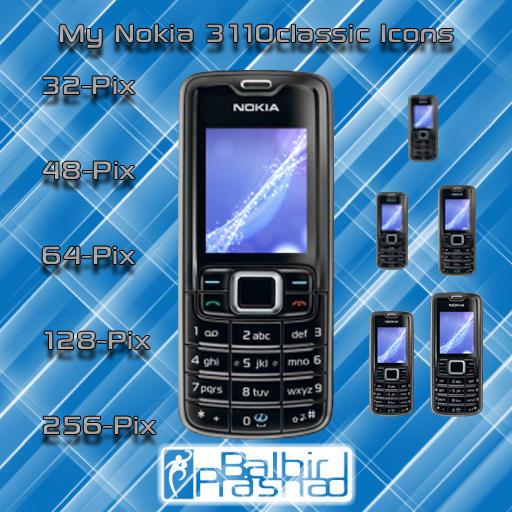 Nokia 3110c ICONs by balbirgrafix