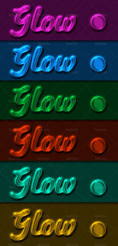 Transparent Glow Layer Style