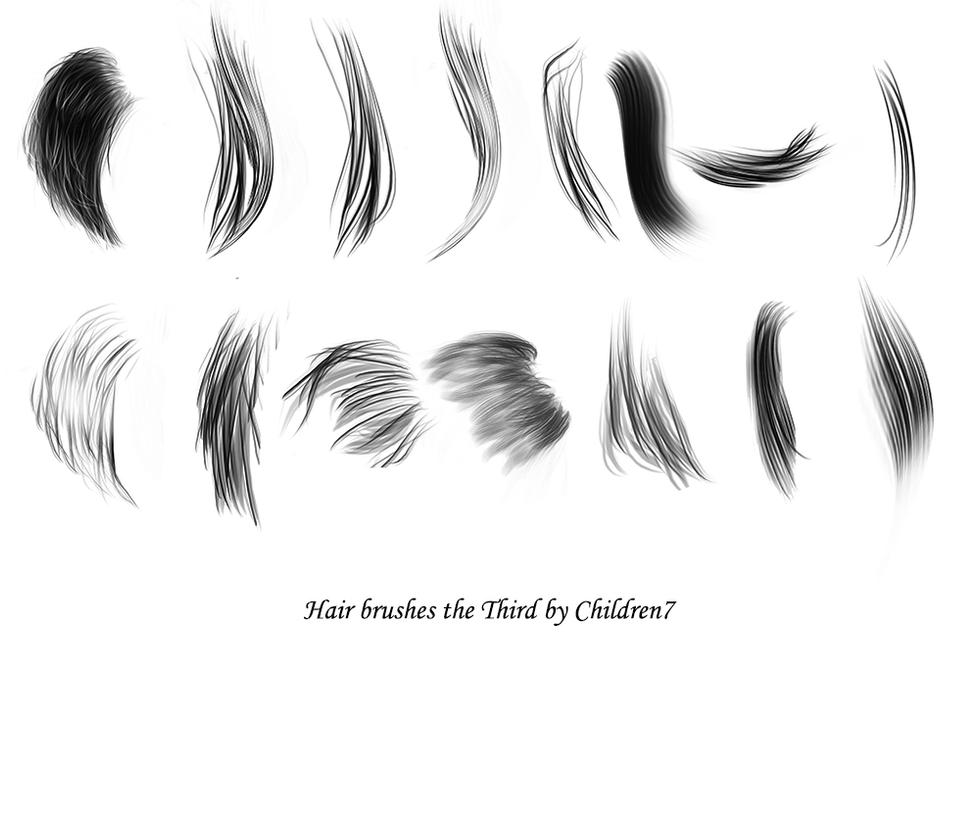 Hair brushes the Third redone circa 2018 by Children7