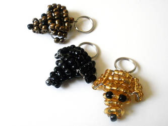 Free Lab Keychain Pattern Tutorial