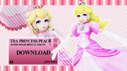 MMD TDA: Princess Peach (A.H) 2.0 DL (Download)