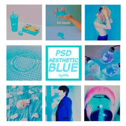 +PSD Aesthetic Blue by PatyOOR99