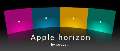 Apple horizon by swazen
