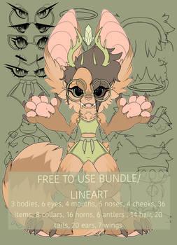 FREE Large Chibi Bundle 2020