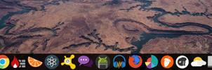 WIN 10 Dark Remix Theme (Rocket/Nexus Dock) by SK-STUDIOS-DESIGN