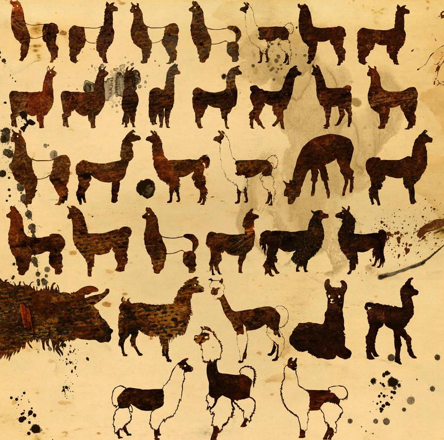 Llama Custom Shape Pack by Mystfren