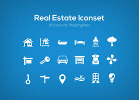 Real Estate Iconset