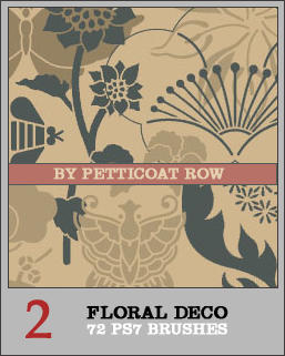 Floral Deco PS7 Brushes