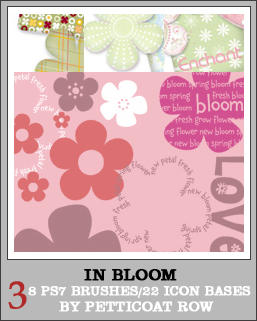 In Bloom PS7 Bases + Brushes