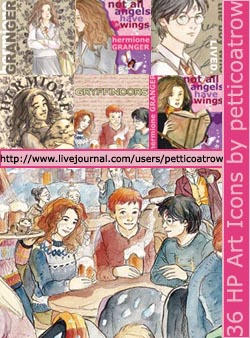 Harry Potter Artwork Icons