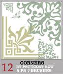 Set 12: 8 Corner Brushes PS7