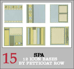 Icon Textures: Spa by petticoatrow