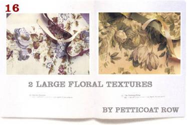 Large Floral Textures