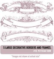 Deco Border Brushes