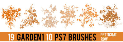 Garden 1 PS 7 Brushes
