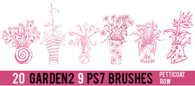 Garden 2 PS 7 Brushes by petticoatrow