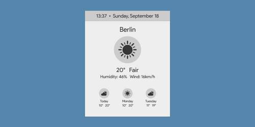 Sunny | WORKING | Rainmeter Suite v2.1