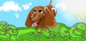 dashhound by cuteart13